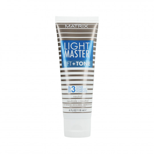 MATRIX LIGHT MASTER Lift&Tone Toner per capelli - Neutral 118ml - 1