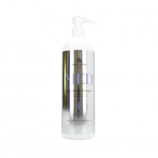 KALLOS MED Deep Repair Shampoo rigenerante 1000ml - 1