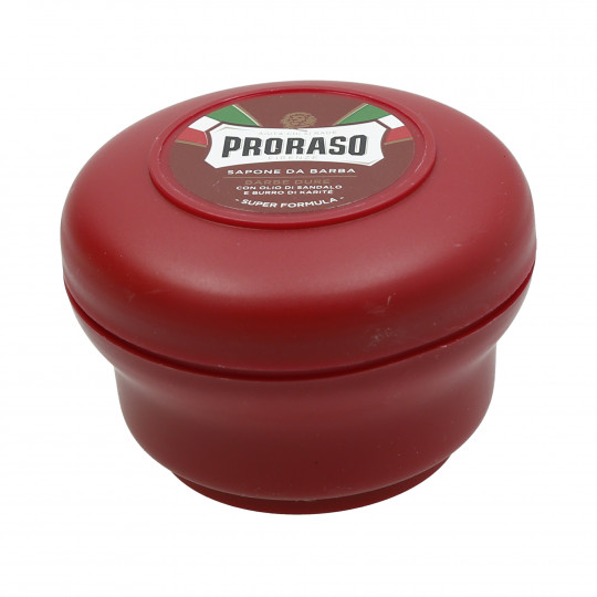 PRORASO RED Sapone da barba nutriente 150ml