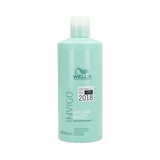 WELLA PROFESSIONALS INVIGO VOLUME BOOST Shampoo volumizzante 500ml