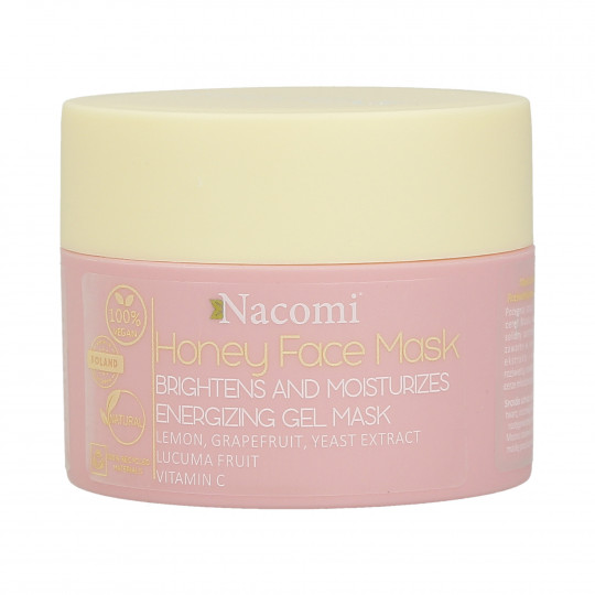 NACOMI Honey Face Mask Maschera viso illuminante e idratante al miele 50ml - 1