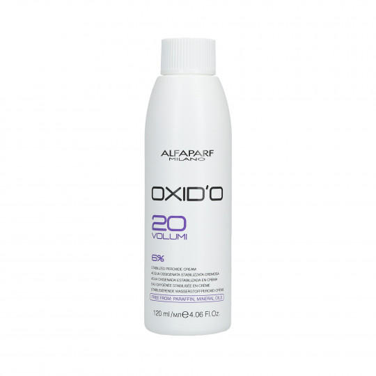 ALFAPARF OXID'O Ossidante in Crema 6% (20Vol.) 120ml - 1