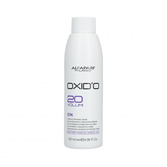 ALFAPARF OXID'O Ossidante in Crema 6% (20Vol.) 120ml - 1