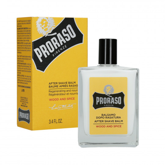PRORASO WOOD&SPICE AFTER SHAVE BALM 100ML