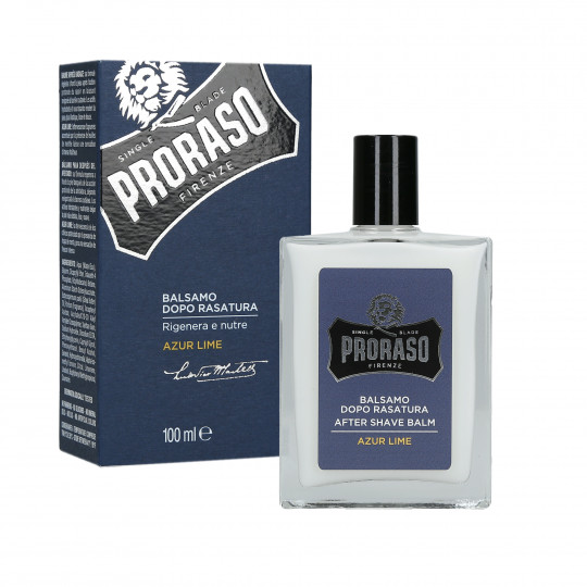 PRORASO AZUR LIME AFTER SHAVE BALM 100ML