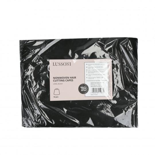 LUSSONI by Tools For Beauty, Mantelle Da Taglio Non tessute, Lunghe, Nero, 10 Pezzi - 1