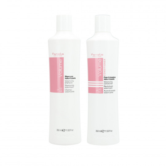FANOLA VOLUME Set per capelli sottili Shampoo 350ml + Conditioner 350ml - 1