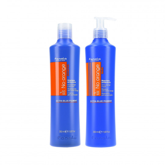 FANOLA NO ORANGE SHAMPOO350ML+MASK350ML SET