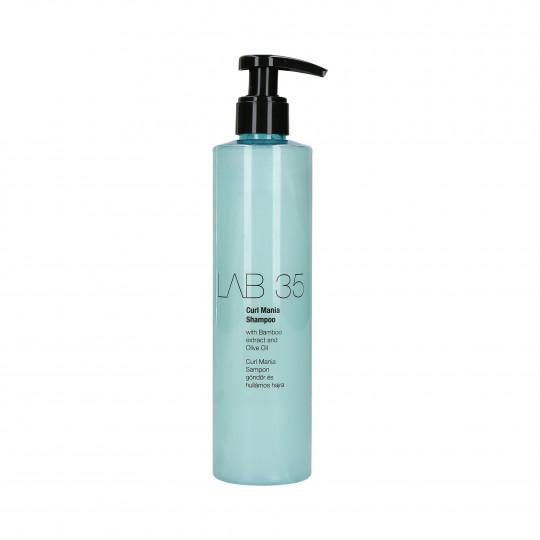 KALLOS LAB 35 CURL MANIA Shampoo per capelli ricci 300ml - 1