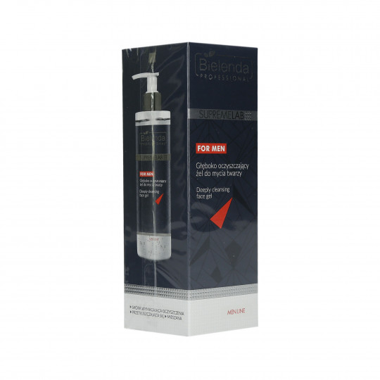 BIELENDA PROFESSIONAL SUPREMELAB Men Line Gel detergente viso 200ml