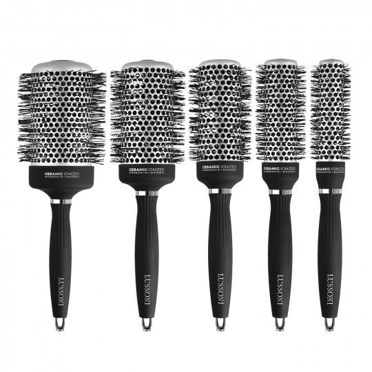 LUSSONI Hot Volume 5 Pcs Professional Round Brush Set