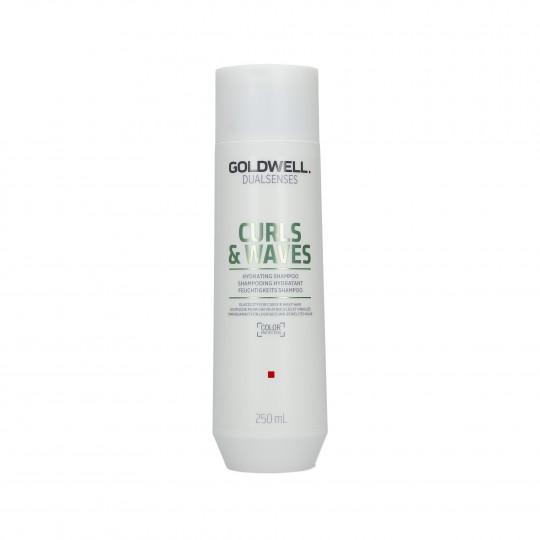 GOLDWELL DUALSENSES CURLS&WAVES Shampoo idratante per capelli 250ml - 1