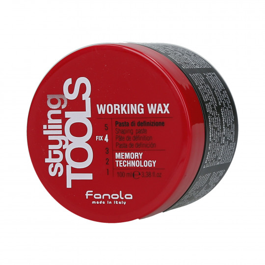 FANOLA STYLING TOOLS Working Wax Cera modellante forte 100ml - 1