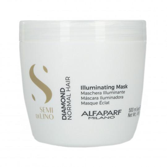 ALFAPARF SEMI DI LINO DIAMOND Maschera illuminante per capelli 500ml - 1