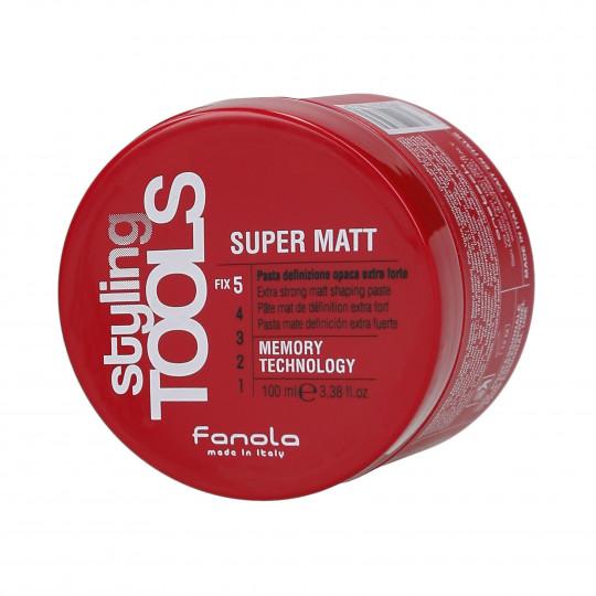 FANOLA STYLING TOOLS Super Matt Pasta per capelli opaca molto forte 100ml - 1