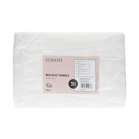 LUSSONI Asciugamano BIO-ECO Monouso, 70 cm x 50 cm, 100 Pezzi