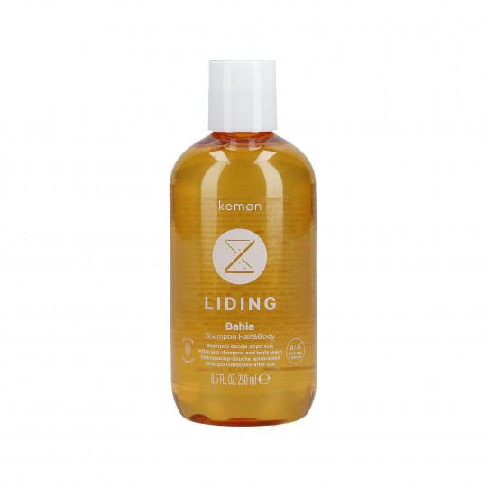 KEMON LIDING BAHIA Shampoo rinfrescante dopo sole per capelli e corpo 250ml
