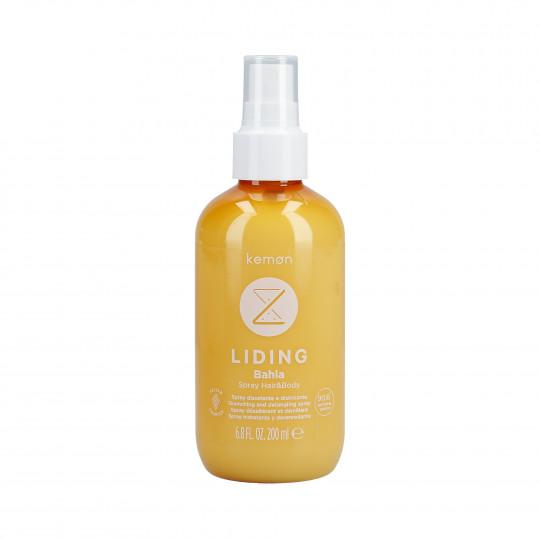 KEMON LIDING BAHIA Spray idratante dopo sole per capelli e corpo 200ml