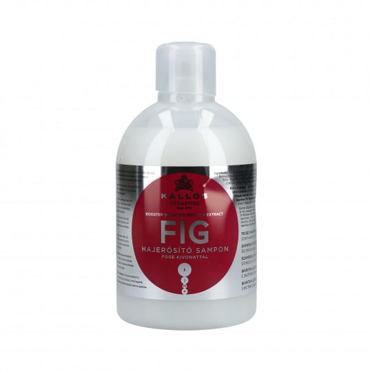 KALLOS KJMN Fig Shampoo rinforzante 1000ml - 1