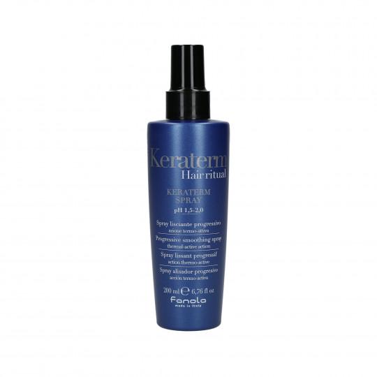 FANOLA KERATERM Spray termoattivo alla cheratina per capelli crespi 200ml - 1