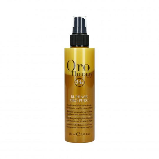 FANOLA ORO THERAPY 24k Oro Puro Balsamo per capelli spray bifasico 200ml - 1