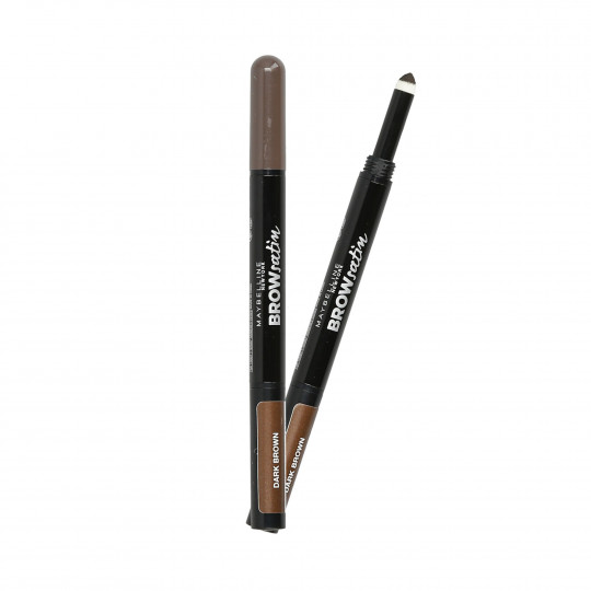 MAYBELLINE BROW Satin Duo matita-ombretto 2in1 per sopracciglia