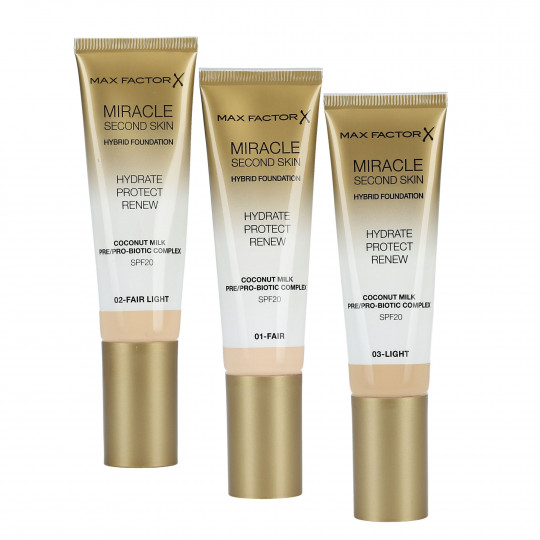 MIRACLE SECOND SKIN FOUNDATION (PRICE)