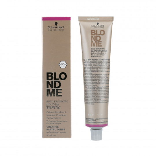 SCHWARZKOPF PROFESSIONAL BLONDME Tonico per capelli biondo pastello 60ml - 1