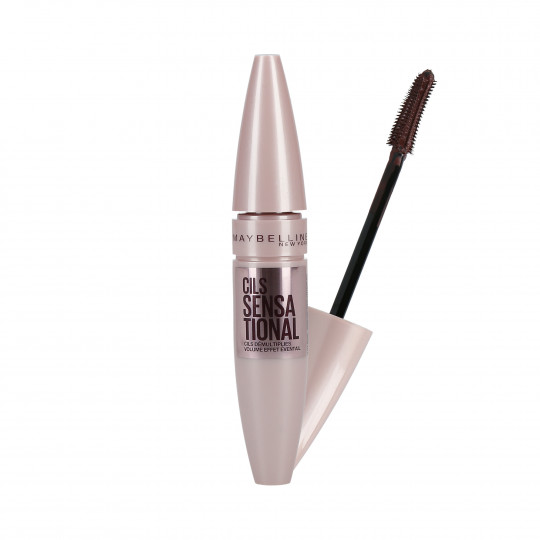 MAYBELLINE LASH SENSATIONAL Burgundy Brown Mascara volumizzante 9,5 ml - 1