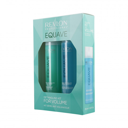 REVLON PROFESSIONAL EQUAVE Volume Set Shampoo 250ml + Conditioner spray 200ml - 1