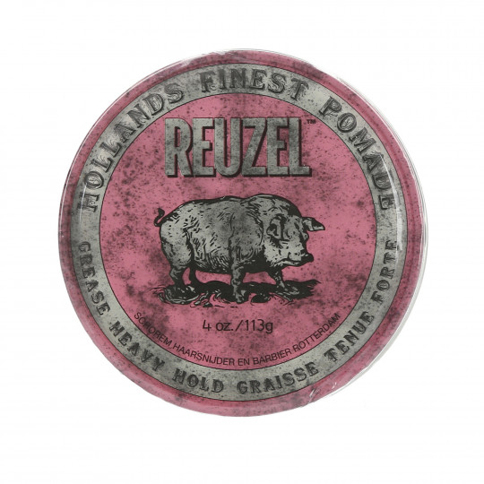 REUZEL PINK GREASE HEAVY HOLD POMADE 113G