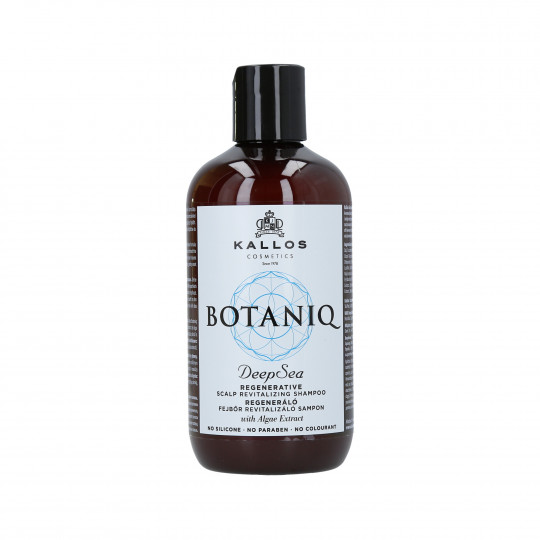 KALLOS BOTANIQ Deep Sea Shampoo rivitalizzante 300ml - 1
