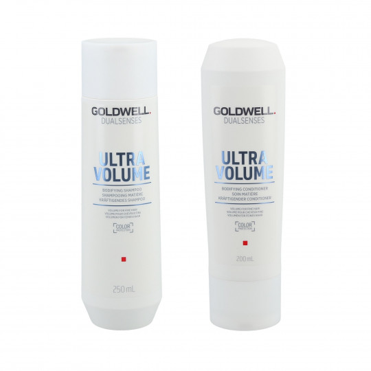GOLDWELL DUALSENSES ULTRA VOLUME Set shampoo 250 ml di + balsamo 200 ml - 1