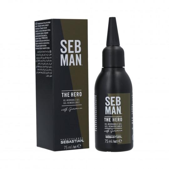 SEB MAN THE HERO RE-WORKABLE GEL 75ML