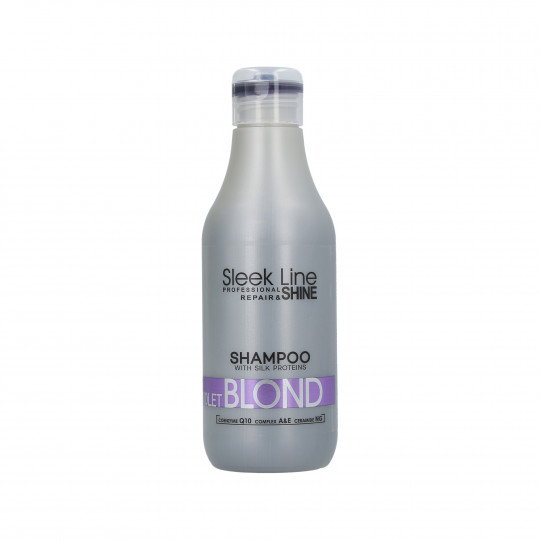 STAPIZ SLEEK LINE VIOLET BLOND SHAMPOO 300ML