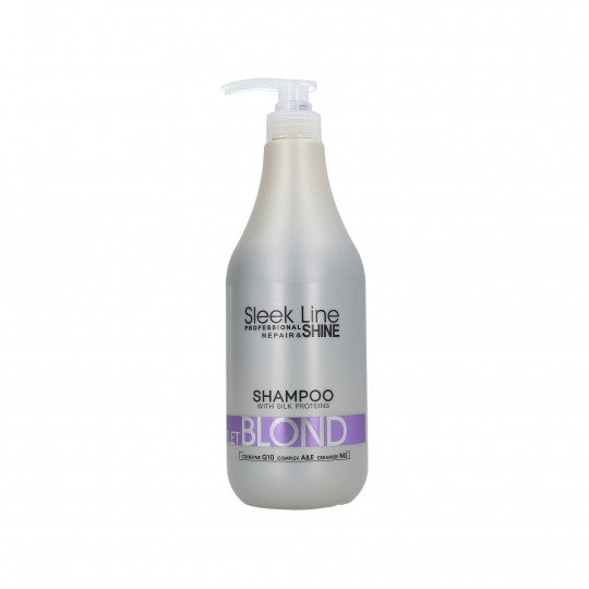 STAPIZ SLEEK LINE VIOLET BLOND SHAMPOO 1L