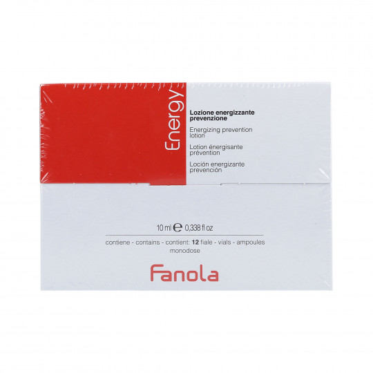 FANOLA Energy Lozione anticaduta 12x10ml