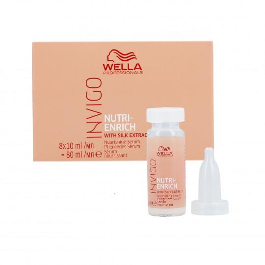 WELLA PROFESSIONALS INVIGO NUTRI-ENRICH Siero per capelli secchi 8x10ml - 1