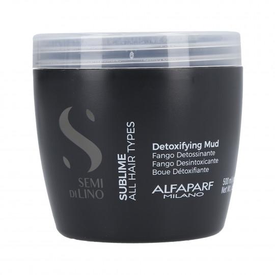 ALFAPARF SEMI DI LINO SUBLIME Maschera di fango detossinante per capelli 500ml - 1