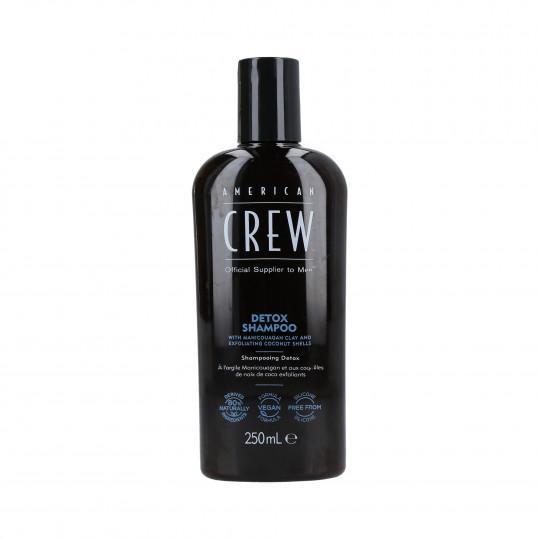 AMERICAN CREW Power Cleanser Shampoo detergente per capelli 250ml - 1