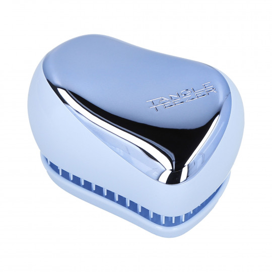 TANGLE TEEZER Compact Styler Baby Blue Chrome