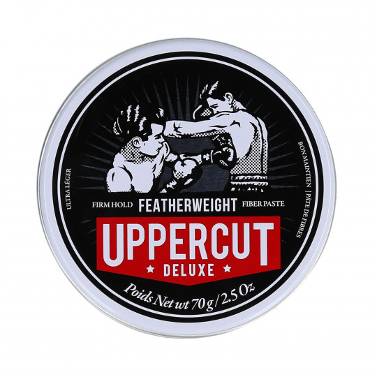 UPPERCUT DELUXE FEATHERWEIGHT STRONG Pasta per capelli 70g - 1