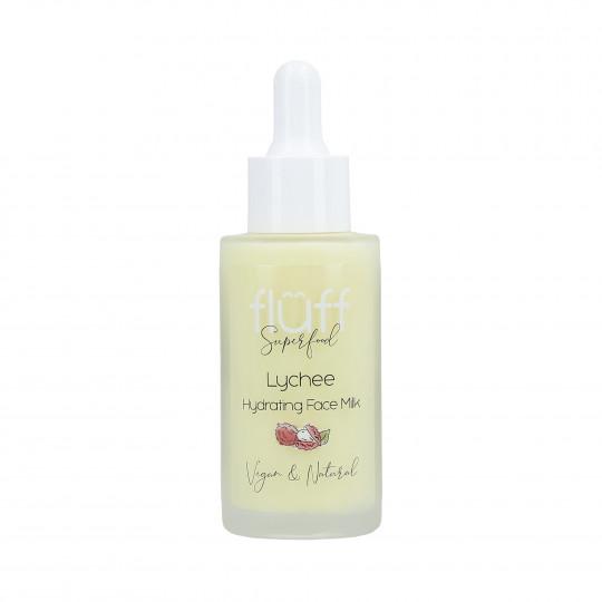 FLUFF Latte viso idratante al profumo di litchi 40ml - 1