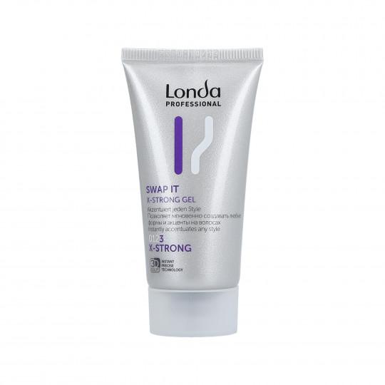 LONDA STYLING Swap It X-Strong Gel per capelli 30ml - 1