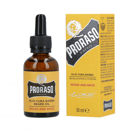 PRORASO WOOD&SPICE BEARD OIL 30ML