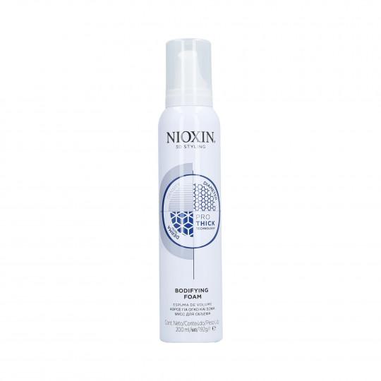 NIOXIN 3D STYLING Mousse rinforzante per capelli 200ml - 1
