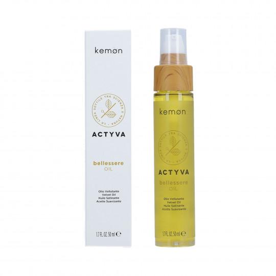 KEMON ACTYVA BELLESSERE Olio per capelli 50ml - 1
