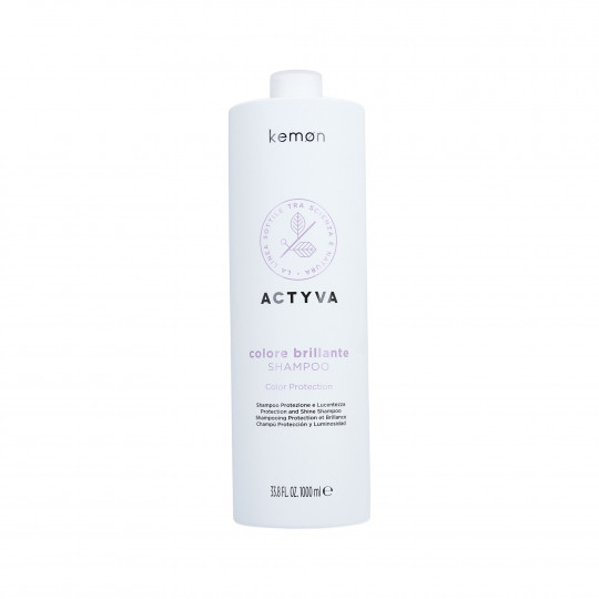 KEMON ACTYVA COLORE BRILLANTE Shampoo per capelli colorati 1000ml - 1