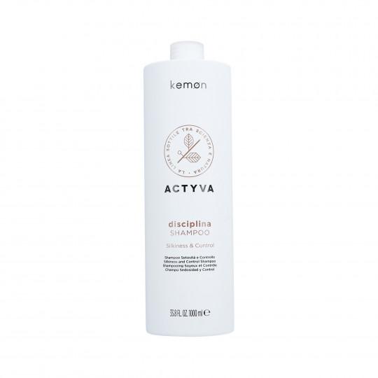 KEMON ACTYVA DISCIPLINA Shampoo capelli ricci 1000ml - 1