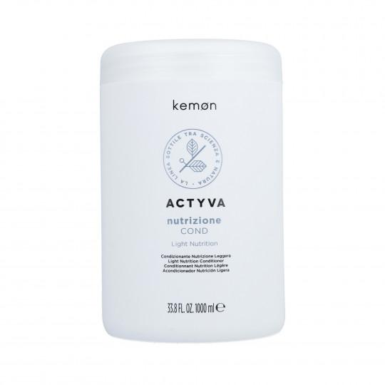 KEMON ACTYVA NUTRITION Condizione per capelli secchi 1000ml - 1